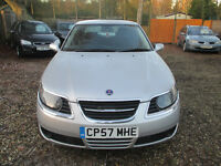 SAAB 9-5 SALOON 1.9 DIESEL LOW MILES WARRANTED MILEAGE HPI CLEAR 2 KEYS EXCELLENT ENGINE AND GEARBOX
