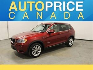 2013 BMW X3 xDrive28i NAVIGATION|PANOROOF|LEATHER