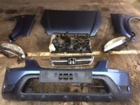 2003 Honda CRV complete front end panels and headlights