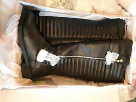 Knee boots new with box