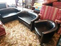 Two Sofas and single set
