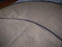 4m half moon Bell Tent Coir matting