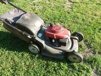 Honda HRX 537 Hydrostatic drive Lawnmower in working order