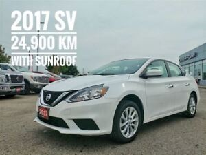 2017 Nissan Sentra 1.8 SV Sunroof Heated Seats  FREE Delivery