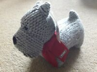 New Cute NEXT doorstop Toby the dog. Ideal christmas gift.