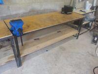 heavy duty garage work benches