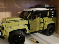 Lego technic land rover defender of road 4x4 car