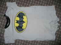 Bundle of 14 summer clothes for boy 9-12mths/ 9-12 mths (incl. Batman and Puma). VGC!