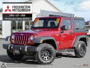 2012 Jeep Wrangler SPORT! AIR! MB WHEELS! 2 TOPS!