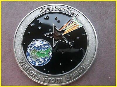2011 meteorite medal - only 250 made! Sikhote-Alin Meteorite! Serial Number 12