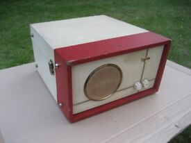 VINTAGE RECORD PLAYER VALVE RECORD PLAYER RETRO RECORD PLAYER ARGOSY RECORD PLAYER 1960'S RECORD