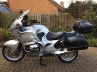 BMW R1150RT Excellent condition, Silver, One owner from new.