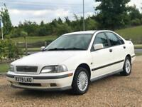 VOLVO S40 i 2.0L AUTOMATIC SALOON WHITE GREAT RUNNER MUST SEE!