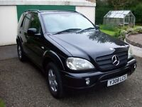 MERCEDES ML270 CDi with AMG BODY KIT & LOW MILES