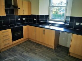 Two three-bedroom flats (one above the other) available separately or