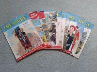 Pack of 10 Vintage Treasure Magazines