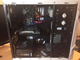 Gaming pc / i5-4460/asus gtx 750ti/8g/500gb with 24 inch asus monitor