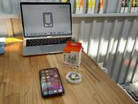 iPhone X 64gb Space Grey Unlocked - 87% 🔋