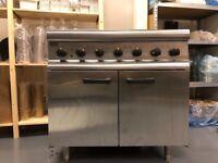 Lincat 6 hob electric oven
