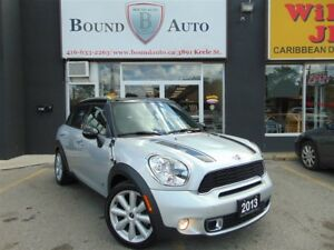 2013 MINI Cooper Countryman COOPER-S-AWD, NAV, LEATHER, SUNROOF,