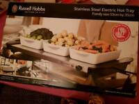Stainless steel electric hot tray