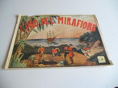 ALBO RARO GRANDE L'ORO DEL MIRAFIORE CIFIELLO JR '40 !!!