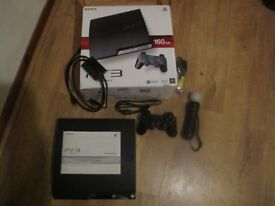 sony ps3 with eye cam and microphone.