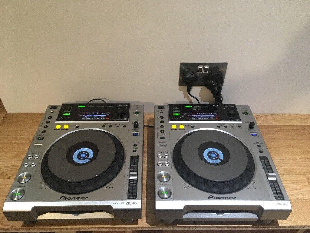 Pioneer CDJ 850, pair, VERY GOOD CONDITION, little use, original boxes