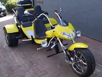 """Boom Trike Muscle 3 Seater 2010 """"Only 1530 Genuine Miles """""""