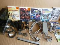 Nintendo Wii Bundle + 7 Games inc. Super Mario Galaxy, Resident Evil 4, The House of the Dead 2 + 3