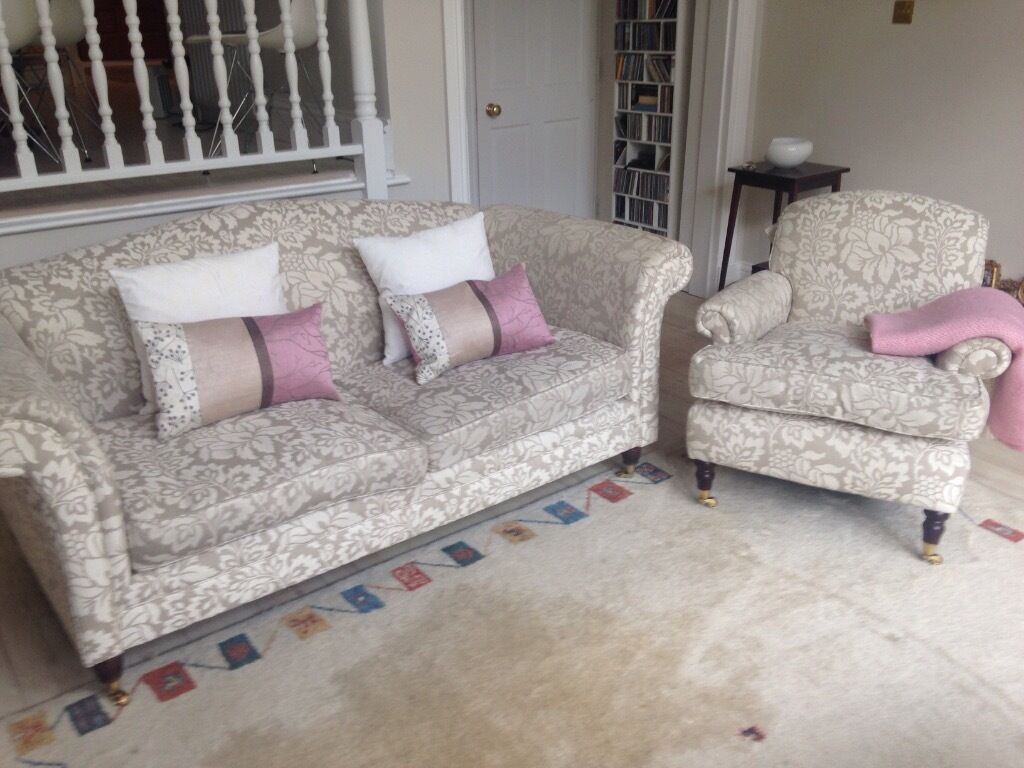 Beautiful Laura Ashley Sofa And Chair For Sale In Richmond London