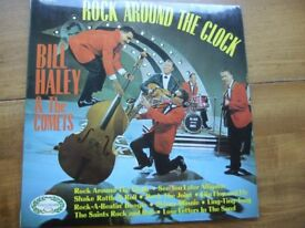 Bill Haley & The Comets. Rock around the Clock. 1968 UK 10 Track Stereo LP