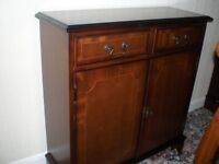 Solid mahogany cabinet