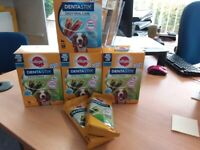 Pedigree Dentastix medium dog 126 daily dental care sticks brand new in box