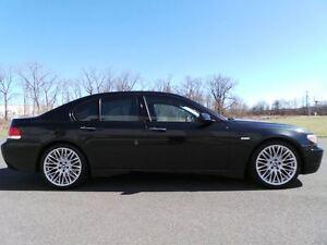 2008 BMW 7 Series 750I - SPORTS PKG - BLACK ON BLACK - LOW KM
