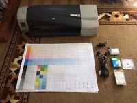HP DesignJet 111 A1 large format printer for £395 + Inks + Roll paper