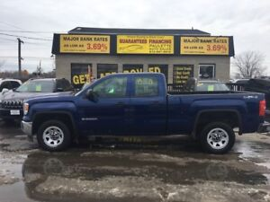 2014 GMC Sierra 1500 4X4!! RATES AS LOW AS 3.69% OAC APPLY NOW!!