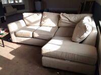 Corner sofa Approx 7 foot x 5 foot