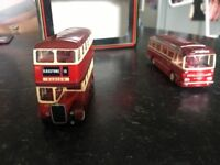 Barton busses single and double decker