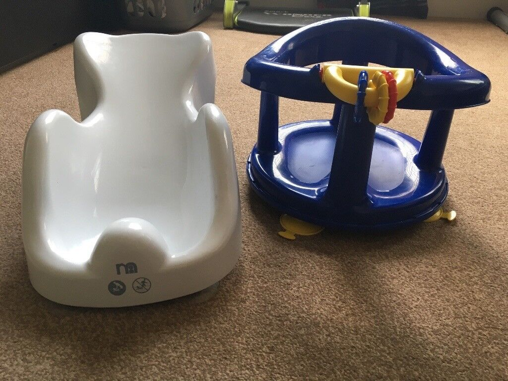 Baby bath seat 1 new born 1 toddler