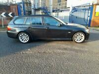 2011 60reg BMW 320d business Edition Black Estate