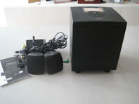 Labtec Pulse Model 415, Speaker / Sound System for PC or Laptop - with box