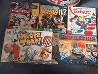 Family board game bundle