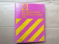 BSA Genuine Service Manual for 1971 BSA B25/B50 Models.