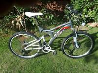 Blade duel suspension mountain bike one of many quality bicycles for sale