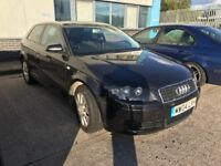 Audi A3 1.6 Special Edition 3dr. Sold as spares/repairs