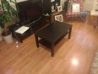 Coffee table, IKEA, black, good condition