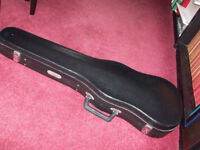 Hard Bodied Shaped Violin Case for Full Size 4/4 Violin