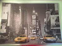(40x55 inch) New York Timed Square Canvas