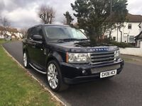 LAND ROVER R/R SPORT 2.7 AUTOMATIC 12Months AA Breakdown cover+HPI CHECKED LONG MOT